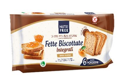 Immagine di NUTRIFREE FETTE BISCOTTATE INTEGRALI 225 G