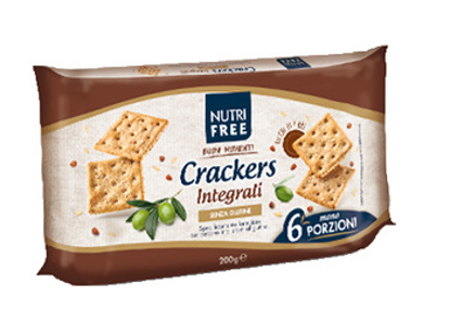 Immagine di NUTRIFREE CRACKERS INTEGRALI 33,4 G X 6 PEZZI