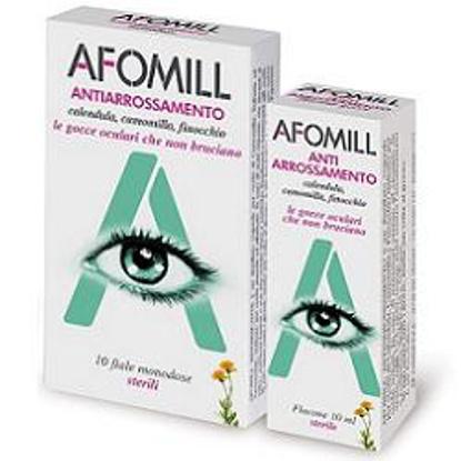 Immagine di AFOMILL ANTIARROSSAMENTO GOCCE OCULARI 10 FIALE MONODOSE 0,5 ML