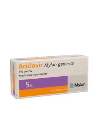 Immagine di ACICLOVIR MYLAN GENERICS 5% CREMA