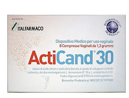Immagine di ACTICAND 30 8 COMPRESSE VAGINALI