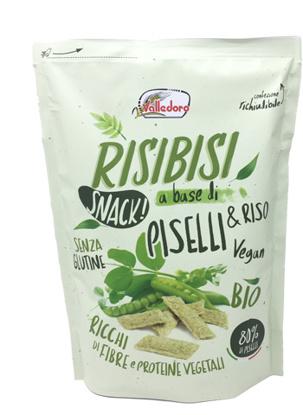 Immagine di RISIBISI BIO PISELLI&RISO 80 G