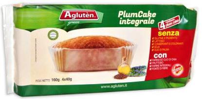 Immagine di AGLUTEN PLUM CAKE INTEGRALE 160 G