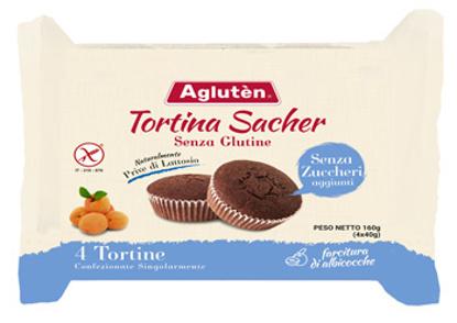 Immagine di AGLUTEN TORTINA SACHER 160 G