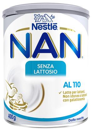 Immagine di NESTLE' NAN SENZA LATTOSIO AL 110 400 G
