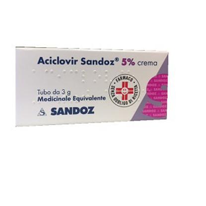 Immagine di ACICLOVIR SANDOZ 5% CREMA
