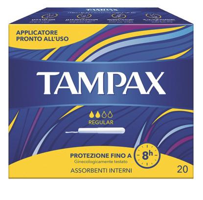 Immagine di TAMPAX BLUE BOX REGULAR 20 PEZZI