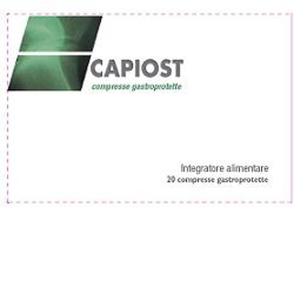 Immagine di CAPIOST 20 COMPRESSE GASTROPROTETTE 28 G