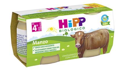 Immagine di HIPP BIO HIPP BIO OMOGENEIZZATO MANZO 2X80 G