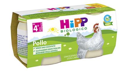 Immagine di HIPP BIO HIPP BIO OMOGENEIZZATO POLLO 2X80 G