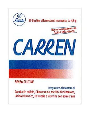 Immagine di CARREN 20 BUSTINE EFFERVESCENTI MONODOSE DA 4,6 G L'UNA