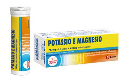 Immagine di DOMPE' POTASSIO+MAGNESIO 12 COMPRESSE