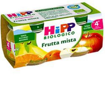 Immagine di HIPP BIO OMOGENEIZZATO FRUTTA MISTA 100% 2X80 G