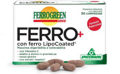 Immagine di FERROGREEN PLUS FERRO+ 30 COMPRESSE