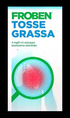 Immagine di FROBEN TOSSE GRASSA 4 MG/5 ML SCIROPPO