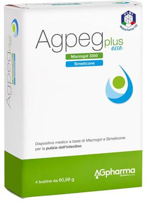 Immagine di AGPEG PLUS ESSE 4 BUSTE OROSOLUBILI DA 60,98 G
