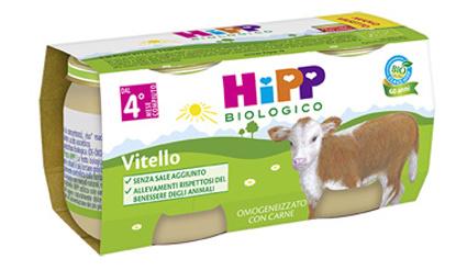 Immagine di HIPP BIO HIPP BIO OMOGENEIZZATO VITELLO 2X80 G