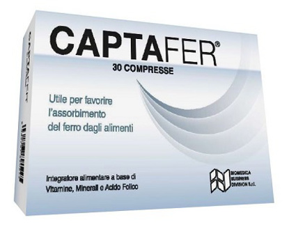 Immagine di CAPTAFER 30 COMPRESSE