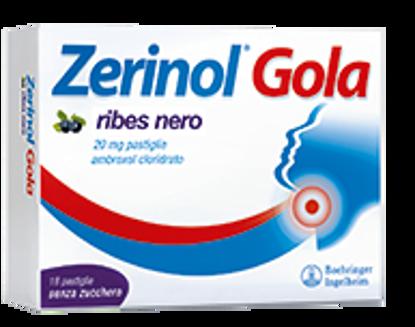 Immagine di ZERINOL GOLA RIBES NERO 20 MG PASTIGLIE