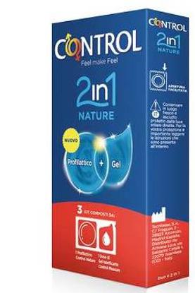 Immagine di CONTROL 2 IN 1 NATURE + LUBE NATURE 3 PEZZI