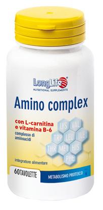 Immagine di LONGLIFE AMINO COMPLEX 60 TAVOLETTE