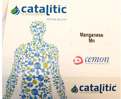 Immagine di CATALITIC OLIGOELEMENTI MANGANESE MN 20 AMPOLLE