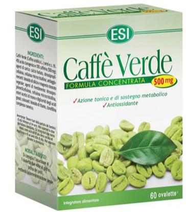 Immagine di CAFFE VERDE 500MG 60 OVALETTE