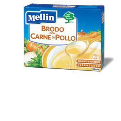 Immagine di MELLIN BRODO CARNE POLLO 10 BUSTINE X 5 G
