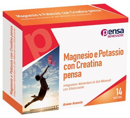 Immagine di MAGNESIO E POTASSIO CON CREATINA ARANCIA PENSA 14 BUSTINE
