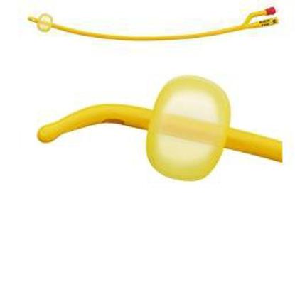 Immagine di CATETERE VESCICALE A MEDIA PERMANENZA TIPO FOLEY RUSCH GOLD PLUS IN SILKOLATEX LATTICE-SILICONE PER ADULTO DIAMETRO CH16 1 PEZZO