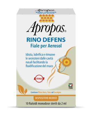 Immagine di APROPOS RINO DEFENS 10 FIALE PER AEROSOL 2 ML