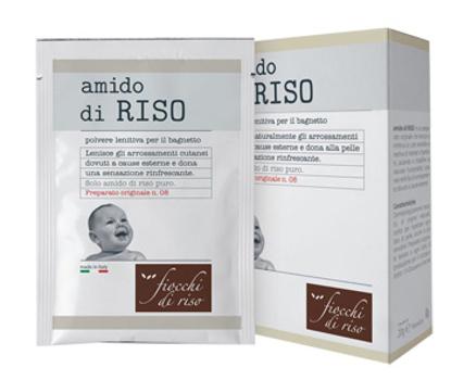 Immagine di FIOCCHI DI RISO AMIDO DI RISO POLVERE LENITIVO 100 G