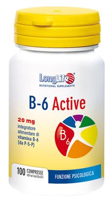 Immagine di LONGLIFE B6 ACTIVE 20MG 100 COMPRESSE