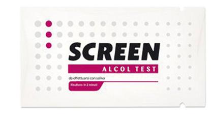 Immagine di ALCOL TEST MONOUSO RILEVA ALCOL NELL'ORGANISMO TRAMITE SALIVA SCREEN ALCOL TEST