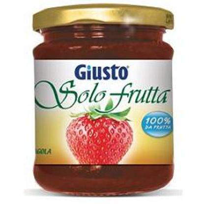 Immagine di GIUSTO SOLO FRUTTA MARMELLATA FRAGOLE 284 G
