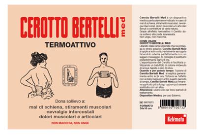Immagine di BERTELLI CEROTTO MED GRANDE 24 X 16 CM