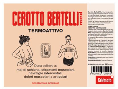 Immagine di BERTELLI CEROTTO MED MEDIO 16 X 12,5 CM