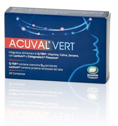 Immagine di ACUVAL VERT 20 COMPRESSE 1,2 G