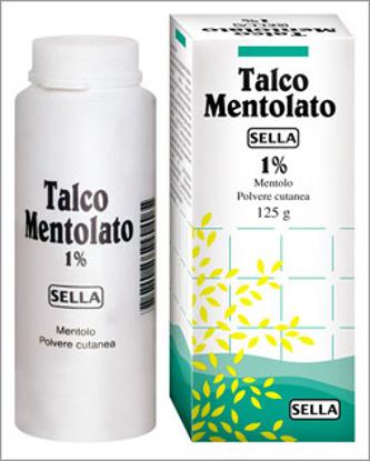 Immagine di MENTOLO SELLA 1% POLVERE CUTANEA