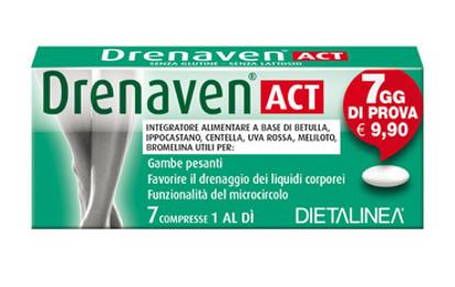 Immagine di DRENAVEN ACT 7 DAYS 7 COMPRESSE DIETALINEA