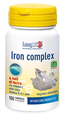 Immagine di LONGLIFE IRON COMPLEX 100 COMPRESSE