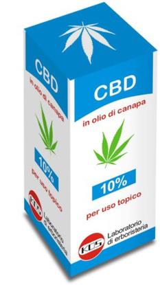 Immagine di CBD OLIO 10% 10 ML