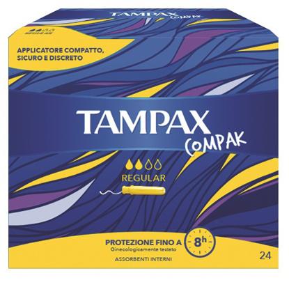 Immagine di TAMPAX COMPAX REG 24PZ