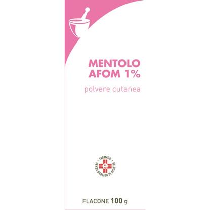 Immagine di MENTOLO FARMAKOPEA 1% POLVERE CUTANEA