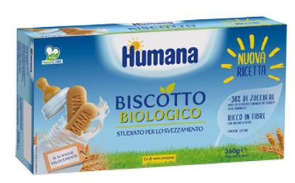 Immagine di HUMANA BISCOTTO BABY BIO 2 SACCHETTI DA 180 G