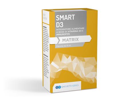 Immagine di SMART D3 MATRIX GOCCE 15 ML