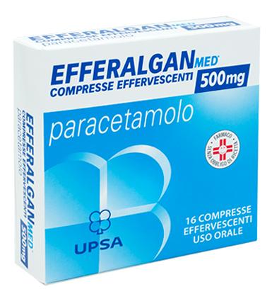 Immagine di EFFERALGAN 500 mg compresse effervescenti