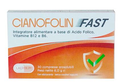 Immagine di CIANOFOLIN FAST 30 COMPRESSE OROSOLUBILI