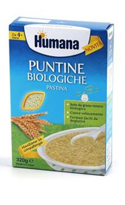 Immagine di HUMANA PUNTINE BIOLOGICHE PASTINA 320 G