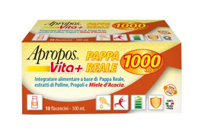 Immagine di APROPOS VITA+ PAPPA REALE 1000MG 10 FLACONCINI DA 10 ML
